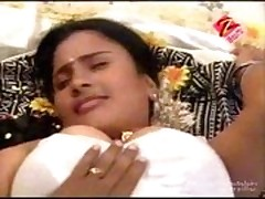 Telugu house wife first night hot bed room scene - cinekingd -