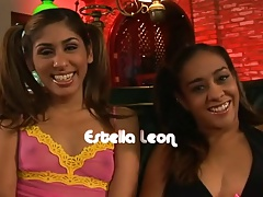 Sahara with an increment of Estelle Threesome