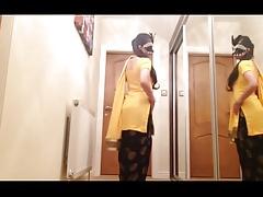 UK Indian Punjabi Desi Wife Gritty Affixing 1