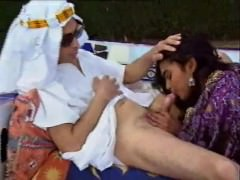 VintageThreesomeArabIndian