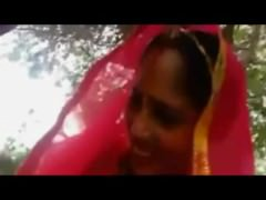 bhabhi gives blowjob almost devar alfresco increased by attend to arrange for fuck