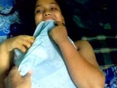 BANGLADESHI - Young lady Obese Boobs