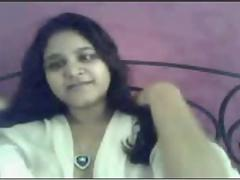 Indian extremely sex-mad Gujrati girl Nadia exposing more than cam part2