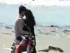 Indian chennai lovers kissing first of all marina beach