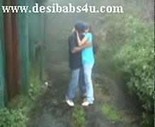 Indian Colleg Chick Making out Parts Hostel With Boyfriend