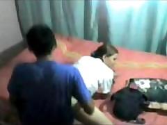 Indian hot mumbai doll doggystyle captured by friend involving hostel hiddencam