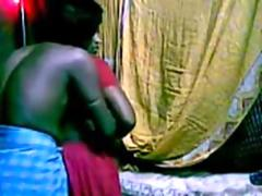 Indian horny gamil maid rough thing embrace by bunch gam