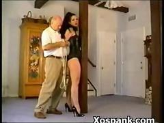 Bondage Whore Spanked In Phat Azz