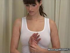 Order about brunette spoil from massageroom movie 2