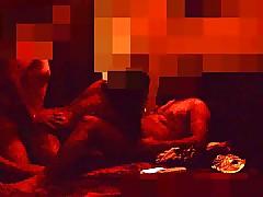 Conceitedly Desi Couple Pranya Rohan threesome & DP