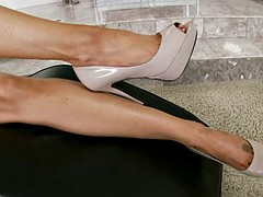 Footjob course of treatment with India Summer