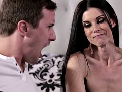 PrettyDirty connected with Noisome Jizzing on Step-Mommy
