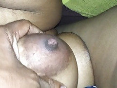 Desi Tamil gf sucking load of shit and bf playing the brush chubby boos