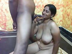 Indian slut take heavy boobs having coition PART-5