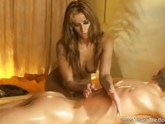Beautiful Erotic Blue-eyed Rub-down From Asia