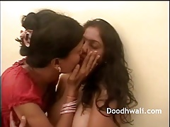 Grown-up Mumbai Sapphist Housewives Fucking Pussy