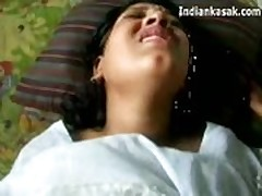 Indian mature aunty fucked real hard by lover  -