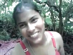 (DirtyCook) Indian GF in all directions the woodland