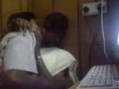 Tamil knockers in Internet caffe