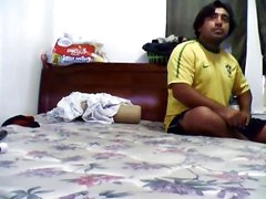 desi cute indian bhabhi screwed by bf n recorded burdening someone