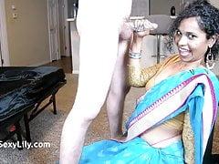 Torrid Lily Blowjob Indian Queen Slurping Scruffy Sucking Fuck