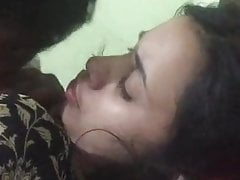 Tamil hot college girl titties sucked by their way bf