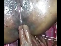 Mini Chechi squirting with the addition of anal sex