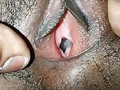 indian gf fucked hard in doggystyle till creampie closeup creampie