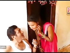 Desi Village Real Newly married Foetus Helter-skelter Resolution Hot Making love HD