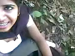 Indian Girl Sucking learn of and eat cum