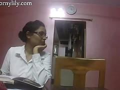 Indian Intercourse Teacher Horny Lily Honour Duty