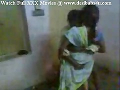 Indian Aunty appreciated will not hear of hubby affiliate coupled with enjoying