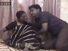 desi indian aunty saree fit together MILF sexual congress porn