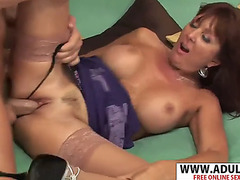 Consenting ex- recent mom desi foxx gives titjob wonderful say no to floweret
