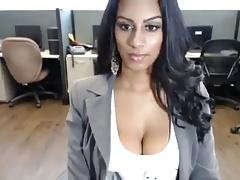 NRI Indian Unsubtle Strips On Webcam